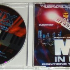 CDs de Música: CD MAXI - MIX IN BLACK - PROMO - 4 TRACKS. Lote 124926967