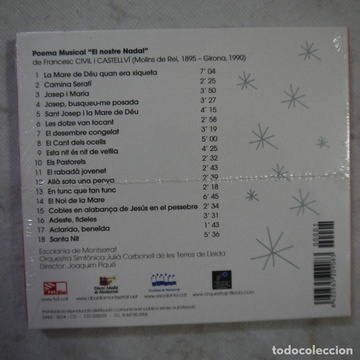 CDs de Música: ESCOLANIA DE MONTSERRAT - EL NOSTRE NADAL - CD 2006 - PRECINTADO - Foto 2 - 125025319