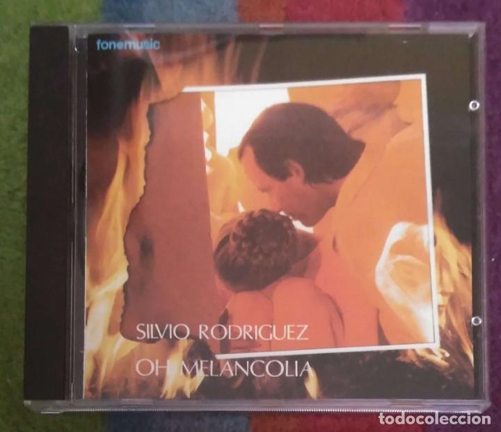 SILVIO RODRIGUEZ (OH MELANCOLIA) CD 1994 (Música - CD's Otros Estilos)