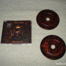 CDs de Música: JUDAS PRIEST- NOSTRADAMUS DOBLE CD. Lote 125038299