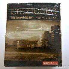 CDs de Música: CD BRAZILECTRO: LATIN FLAVOURED CLUB TUNES SESSION ONE - SIX ,6 CD BOX , 2004, NUEVO ,693723714301 *. Lote 125046423