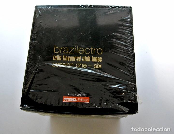 CDs de Música: CD Brazilectro: Latin Flavoured Club Tunes Session One - Six ,6 CD BOX , 2004, NUEVO ,693723714301 * - Foto 3 - 125046423
