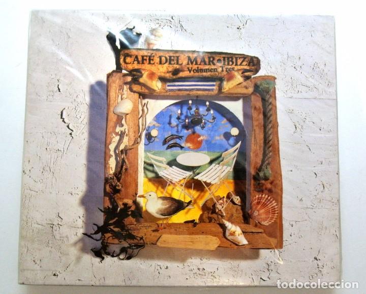 CAFE DEL MAR IBIZA VOLÚMEN 3 , CD, NUEVO Y PRECINTADO, RESIST, 2005, 842694020144 (Música - CD's New age)