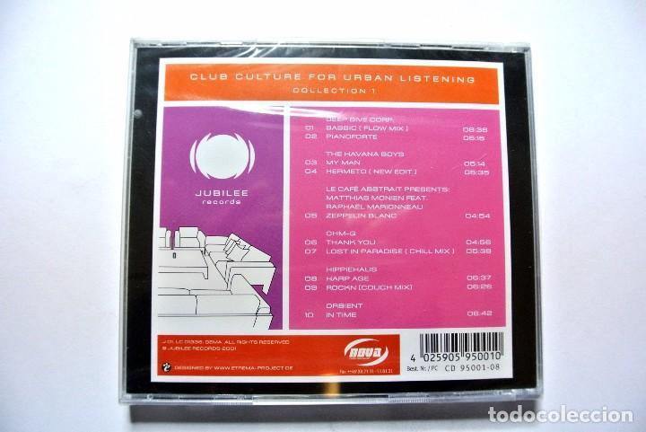 CDs de Música: CD CLUB CULTURE For urban listening collection 1, JUBILEE 2001, Nuevo y precintado, 4025905950010 - Foto 2 - 125080615