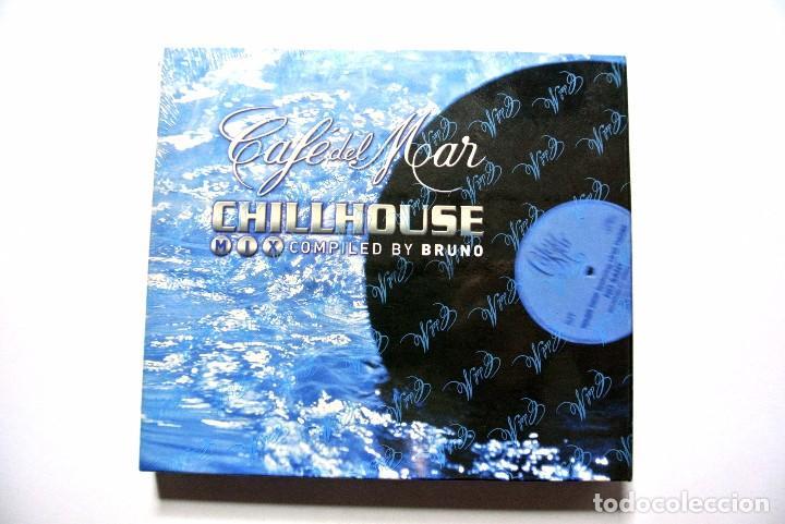 CAFE DEL MAR CHILLHOUSE BY BRUNO, 2 CD , 1999, NUEVO Y PRECINTADO , 0843104299518 , 01-1999-2 (Música - CD's New age)