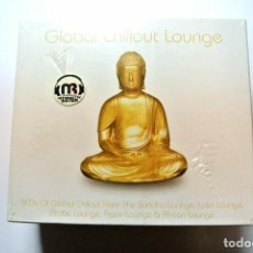CDs de Música: CD GLOBAL CHILLOUT LOUNGE ,PLATINUM COLLECTION, BOX SET 5 CDS ,2006, NUEVO Y PRECINTADO, 87649200029. Lote 125083191
