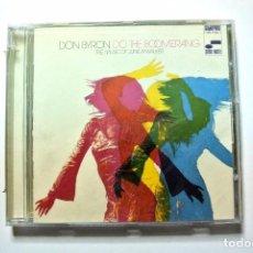 CDs de Música: CD DON BYRON , DO THE BOOMERANG, CD , BLUE NOTE, 2006, NUEVO Y PRECINTADO, 0946-3-41094-2 0. Lote 125084483