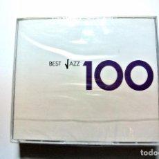 CDs de Música: CD BEST JAZZ 100 , RECOPILATORIO DE 6 CD'S , EMI 2006 , NUEVO PRECINTADO, 0946 3 67481 2 2 *. Lote 125084867