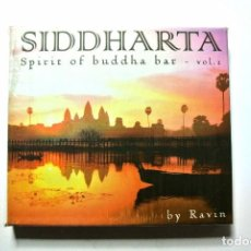 CDs de Música: CD SIDDHARTA SPIRIT OF BUDDHA BAR VOL. 2 BY RAVIN, 2 CD'S, 2003,NUEVO Y PRECINTADO, 3596971881221. Lote 125087519