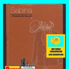 CDs de Música: SABINA - PALABRAS HECHAS CANCIONES - EL HOMBRE DEL TRAJE GRIS - EXCELENTE. Lote 125119979