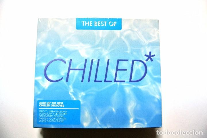 CD THE BETS OF CHILLED*, APACE MUSIC 2006, COMPILATION 3 CDS, NUEVO Y PRECINTADO, 87649200147 (Música - CD's New age)