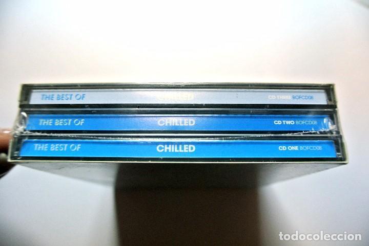 CDs de Música: CD The Bets Of CHILLED*, APACE MUSIC 2006, COMPILATION 3 CDS, Nuevo y precintado, 87649200147 - Foto 3 - 125144755
