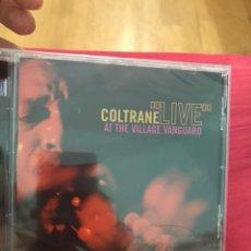 "CDs de Música: COLTRANE ""LIVE"" AT THE VILLAGE VANGUARD PRECINTADO. Lote 125147222"