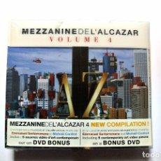 CDs de Música: CD MEZZANINE DE L'ALCAZAR VOL. 4, 2 CD'S + DVD BONUS, WAGRAM 2005, NUEVO Y PRECINTADO, 3596971101022. Lote 125147683