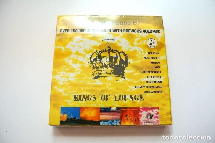 CD CHILL OUT IN PARIS 6 KINGS OF LOUNGE, STEFANO CECCHI 2007, NUEVO Y PRECINTADO, 8032754470770 (Música - CD's New age)