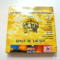 CDs de Música: CD CHILL OUT IN PARIS 6 KINGS OF LOUNGE, STEFANO CECCHI 2007, NUEVO Y PRECINTADO, 8032754470770. Lote 125149823