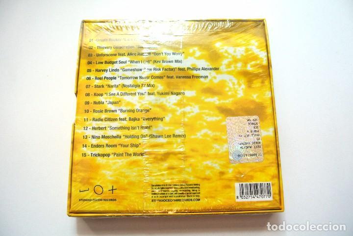 CDs de Música: CD CHILL OUT IN PARIS 6 KINGS OF LOUNGE, STEFANO CECCHI 2007, Nuevo y precintado, 8032754470770 - Foto 2 - 125149823