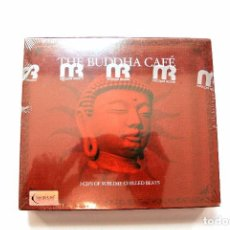 CDs de Música: CD THE BUDDHA CAFÉ , COMPILATION 3 CD'S ,BAR DE LUNE, DYNAMIC 2005 , NUEVO Y PRECINTADO 876492003627. Lote 125151279