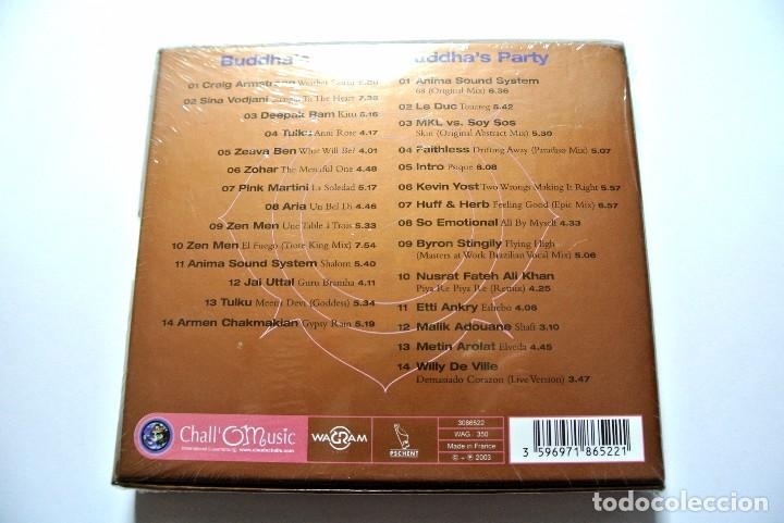 CDs de Música: CD BUDDHA BAR By Claude Challe, 2 CDS, WAGRAM 2003, Nuevo y precintado, 3596971865221 , 3086522 - Foto 2 - 125157363