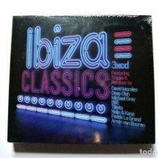 CDs de Música: CD IBIZA CLASSICS, COMPILATION 3 CD'S ,BLANCO Y NEGRO, 2013, NUEVO Y PRECINTADO, 8421597077121 *. Lote 125162831