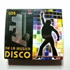 CDs de Música: CD LOS Nº 1 DE LA MUSICA DISCO ,RECOPILATORIO DE 3 CD'S, 2004, NUEVO Y PRECINTADO, 842593926627 *. Lote 125164147