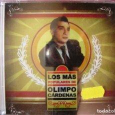 CDs de Música: OLIMPO CARDENAS.LOS MAS POPULARES DE..20 TEMAS..PRECINTADO..MUY RARO...COLOMBIA. Lote 125213999