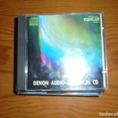 CDs de Música: DENON AUDIO TECHNICAL. CD. EDICION JAPONESA, 1984. Lote 125219591