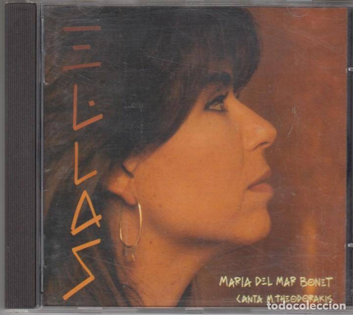 MARIA DEL MAR BONET CD CANTA THEODORAKIS 1993 ARIOLA (Música - CD's Otros Estilos)