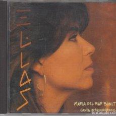 CDs de Música: MARIA DEL MAR BONET CD CANTA THEODORAKIS 1993 ARIOLA. Lote 125228067