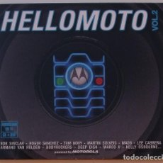 CDs de Música: HELLOMOTO VOL. 2 - VARIOS (CD + DVD) DIGIPACK. Lote 125229031