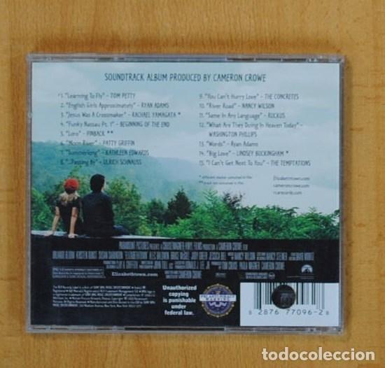 CDs de Música: VARIOS - ELIZABETHTOWN VOL. 2 - BSO - CD - Foto 2 - 125282419