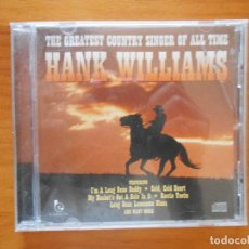 CDs de Música: CD HANK WILLIAMS - THE GREATEST COUNTRY SINGER OF ALL TIME (8P). Lote 125283463
