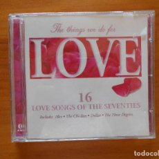 CDs de Música: CD THE THINGS WE DO FOR LOVE (BB). Lote 125285283
