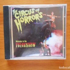 CDs de Música: CD CIRCUS OF HORRORS - WELCOME TO THE FREAKSHOW (BB). Lote 125287583