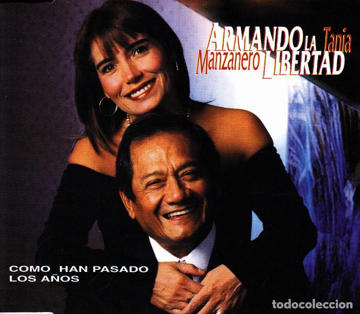 ARMANDO MANZANERO Y TANIA LIBERTAD - COMO HAN PASADO LOS AÑOS CD SINGLE PROMO 1 TEMA 1998 (Música - CD's Latina)
