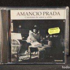 CDs de Música: AMANCIO PRADA - CANCIONES DE AMOR Y CELDA - CD. Lote 125326587