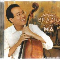 CDs de Música: CD YO-YO MA : ABRIGADO BRAZIL . Lote 125333771