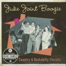 CDs de Música: JUKE JOINT BOOGIE CD -33 1/3 EDITION COUNTRY & ROCKABILLY CLASSICS (ATENCION COMPRA MINIMA 15 EUROS). Lote 125350375