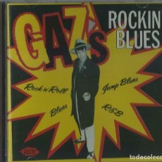 CDs de Música: GAZS ROCKIN BLUES CD ACE RECORDS 2005 ROCK'N'ROLL (ATENCION COMPRA MINIMA 15 EUROS). Lote 125350431