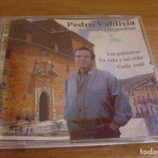 CDs de Música: CD. A VILLANUEVA DEL ARZOBISPO. PEDRO VALDIVIA. BIEN CONSERVADO.. Lote 125407147