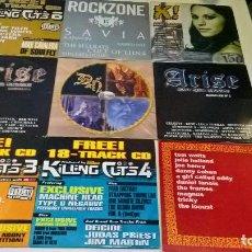 CDs de Música: MUSICA CD: LOTE 3 DE 9 CDS HEAVY ROCK TRASH EXTREME PUNK GOTICO. Lote 125439043