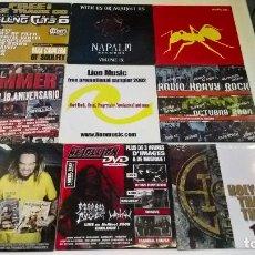 CDs de Música: MUSICA CD: LOTE 4 DE 9 CDS HEAVY ROCK TRASH EXTREME PUNK GOTICO. Lote 125440003