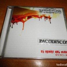 CDs de Música: LA DAMA OSCURA EL RUMOR DEL MIEDO CD ALBUM DEL AÑO 2011 HEAVY ESPAÑOL CONTIENE 12 TEMAS. Lote 125442263