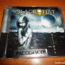 CDs de Música: BLACK HAT ECLIPSE CD ALBUM DEL AÑO 2013 FRAN SOLER XINA JOSE DEL PINO CONTIENE 10 TEMAS. Lote 125444111