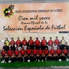 CDs de Música: SELECCIÓN ESPAÑOLA DE FÚTBOL - 2000. Lote 125454103