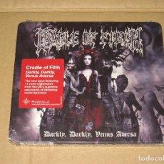 CDs de Música: (SIN ABRIR) CRADLE OF FILTH - DARKLY DARKLY VENUS AVERSA __ (CDVILEF300). Lote 125479383