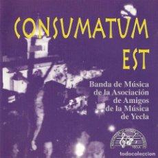 CDs de Música: CONSUMATUM EST. Lote 125658823