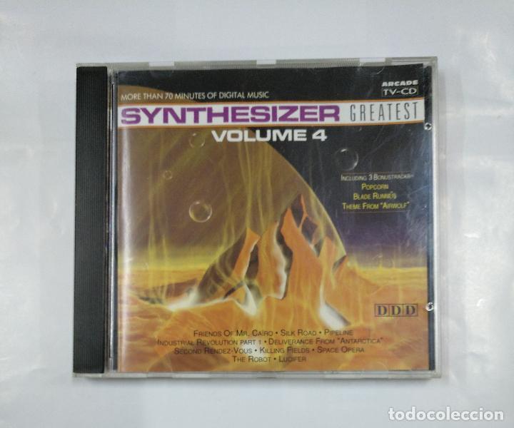 SYNTHESIZER GREATEST VOLUMEN 4 VOL. - CD. TDKV18 (Música - CD's Otros Estilos)