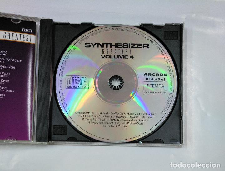 CDs de Música: SYNTHESIZER GREATEST VOLUMEN 4 VOL. - CD. TDKV18 - Foto 2 - 125739831