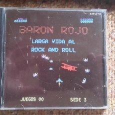 CDs de Música: BARON ROJO , LARGA VIDA AL ROCK AND ROLL , CD 1991 1A EDICION , IMPECABLE .. Lote 125834711